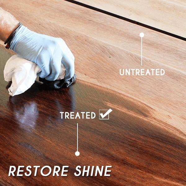 Adatto a tutti i tipi di superfici in legno image