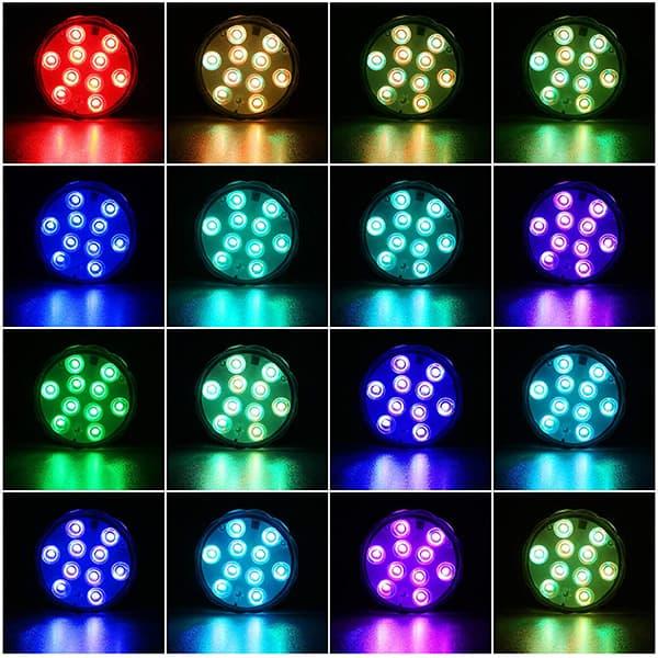 16 colori e 4 modalità di funzionamento image