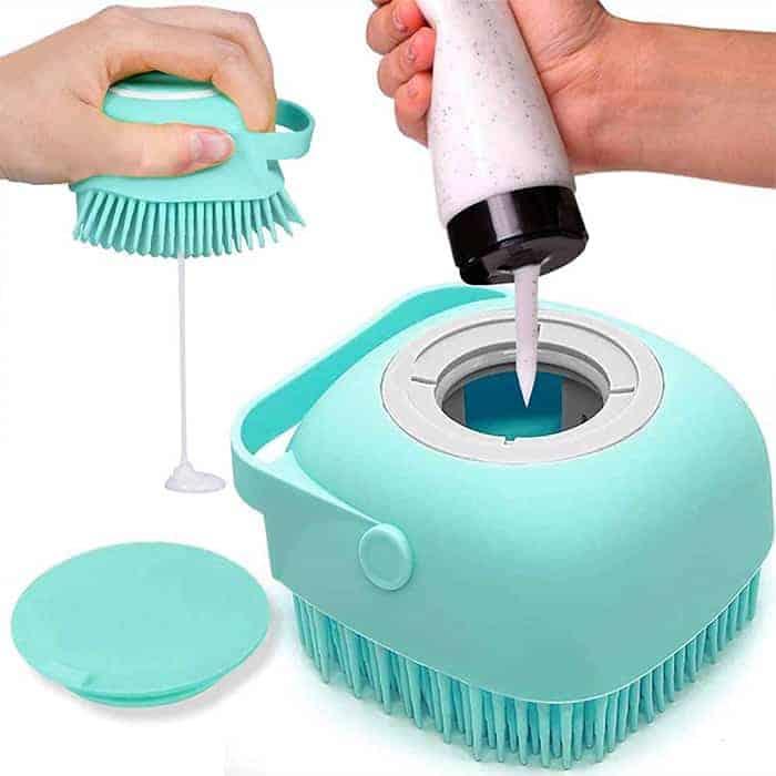 Spazio per lo shampoo o bagnoschiuma image